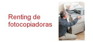 renting de fotocopiadoras