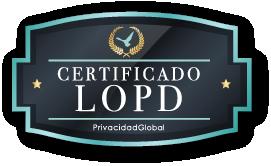 Certificación LOPD - Privacidad Global